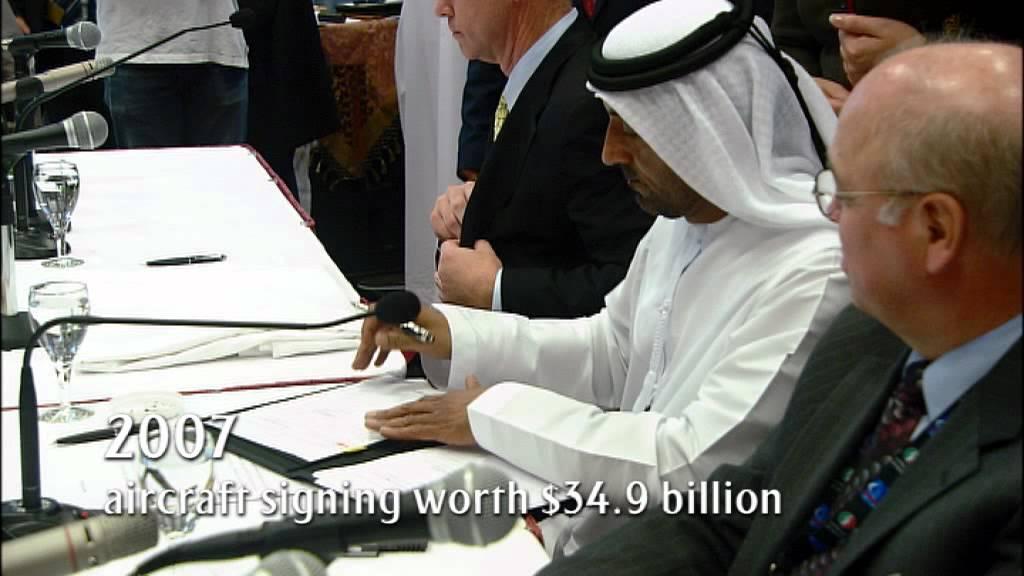 Emirates | Milestone series - 2007 | Emirates $34.9 billion deal for new Aircraft