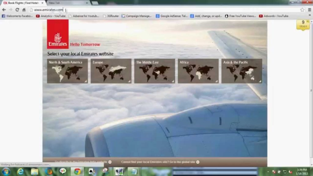 How to Search Emirates Flight Latest Offers(Easy To Learn)