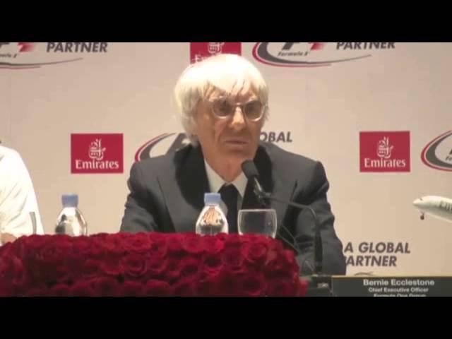 Ecclestone glee at Emirates deal - Formula One Video
