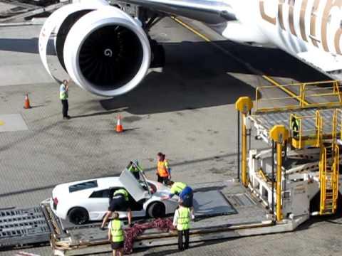 Special Emirates Airlines Cargo - Lamborghini Murcielago