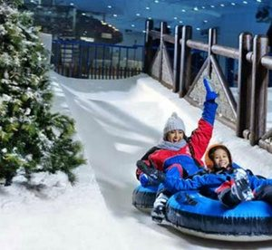 Dubai: 1 or 2 Nights with Ski Dubai Entry