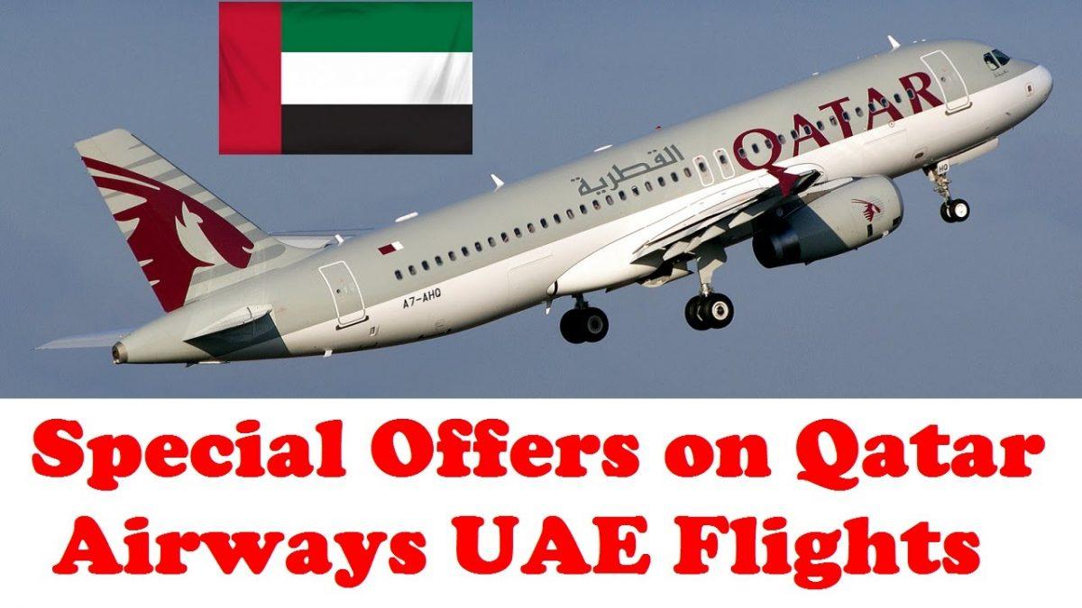 Special Offers on Qatar Airways UAE Flights