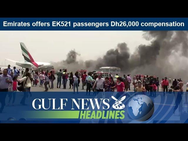 Emirates offers EK521 passengers Dh26,000 compensation - GN Headlines