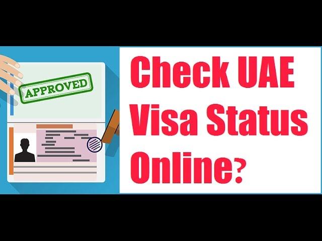 How to Check UAE Visa Status Online?