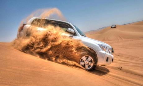 Exclusive 4x4 Pick Up Abu Dhabi Desert Safari