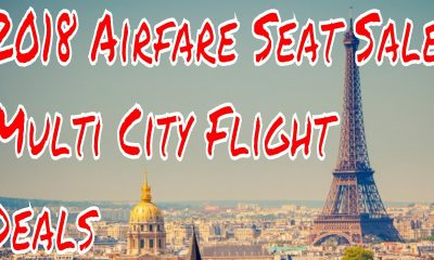 2018 Airfare Seat Sales on Multi City Flights Emirates LAX Dubai Hong Kong Paris Lax $1800