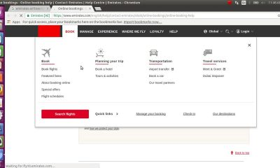 How to book emirates airlines tickets online