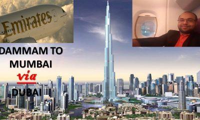 DAMMAM TO MUMBAI VIA DUBAI | CHEAP EMIRATES FLIGHTS | DUBAI DXB AIRPORT | OFFICIAL AIRPORT VLOG