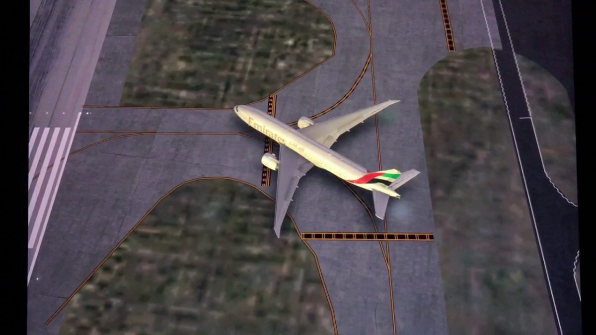 Emirates Virtual Airline Advert