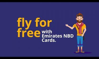 How to get a free flight ticket with Emirates NBD طريقة الحصول على تذكرة الطيران المجانية