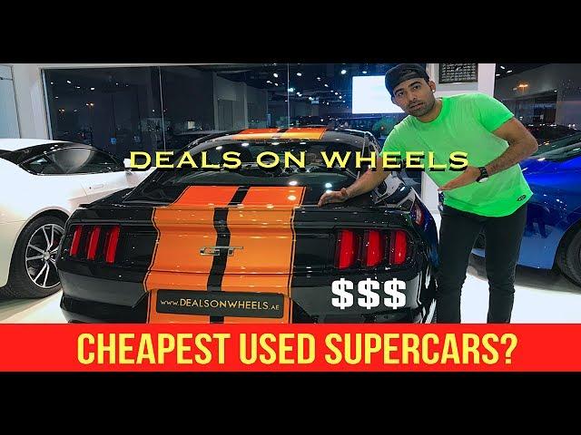 Deals On Wheels   Biggest Supercars Dealer In DUBAI😍😍