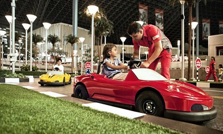 Yas Island: 1- or 2-Night 4* Stay with Theme Park Tickets
