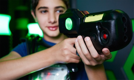 Laser Tag for Up to 12