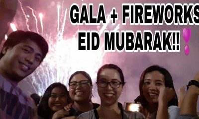BUHAY SA DUBAI   EID AL ADHA 2018   HOLIDAY DAY 1   GALA + FIREWORKS