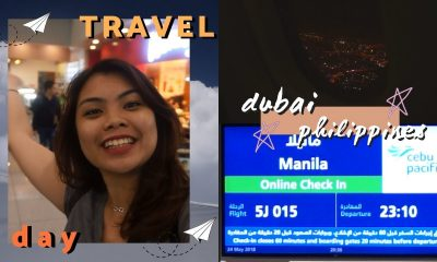 ✈️ Travel Day [ PHILIPPINES VLOG ] : Dubai to Philippines ✈️ | ITSJEMHERE