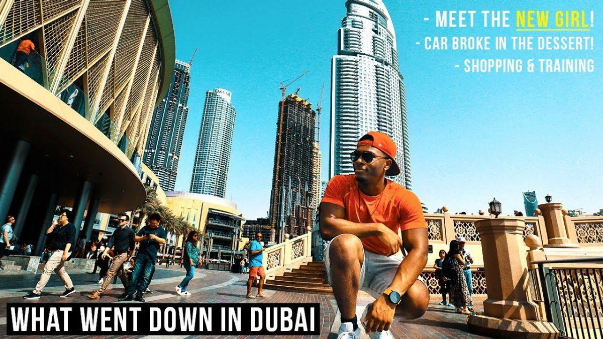 MOVING TO DUBAI! | Travel VLOG 🛫