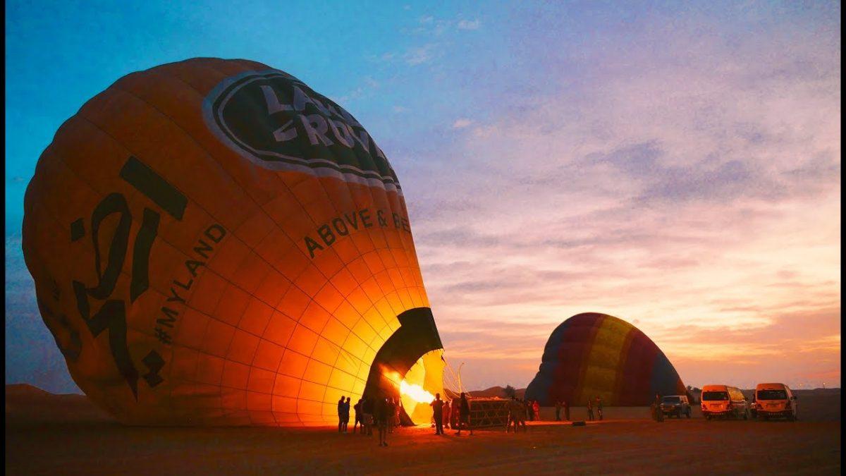 Travel Diary : Dubai Hot Air Balloon