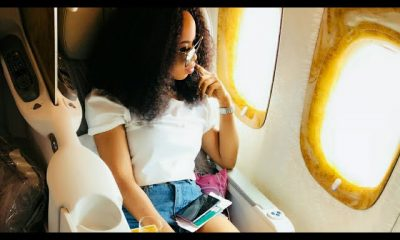 BIG BROTHER NAIJA 2018 • NINA TRAVELS TO DUBAI IN STYLE FOR HOLIDAY AFTER HER SCHOOLING