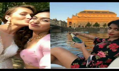 Divya Agarwal Holidays In Dubai With Her International friend and Priyank Sharma