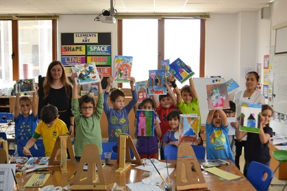 Art Class and Food Voucher: Child AED 125