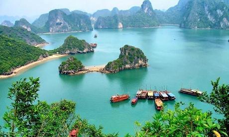 North Vietnam: 4-Night Tour with Cruise